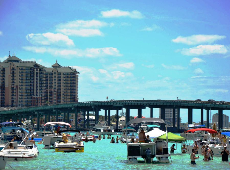 Destin Florida Crab Island Hotels